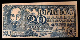 # # # Alte Banknote Aus Nordvietnam (North Vietnam) 20 Dong 1948 # # # - Viêt-Nam