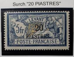 LEVANT 1912 N° 23* - Nuevos