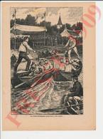 Récit 1909 Les Joutes Sur La Lone Saint Pierre De Boeuf (Loire 42) Contre Condrieu (69 Rhône) Georges De Lys 241/18 - Sin Clasificación