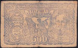 # # # Banknote Aus Nordvietnam (North Vietnam) 500 Dong 1953 # # # - Viêt-Nam
