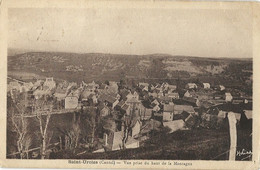 15 - SAINT-URCIZE - Vue Prise Du Haut De La Montagne - Sonstige Gemeinden