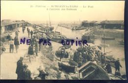 Ile D'oleron Saint Trojan Les Bains Le Port A L'arrivee Des Bateaux - Ile D'Oléron