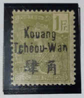 Kouang-tcheou1906 N° 14** - Unused Stamps