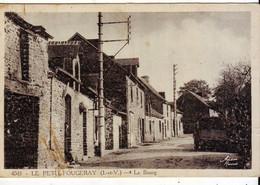 Cpa  Le Petit Fougeray  Le Bourg - Sonstige Gemeinden