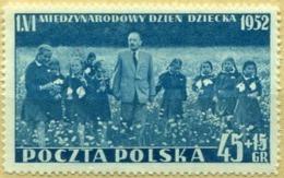 1952 Poland International Children's Day MNH** - Ongebruikt