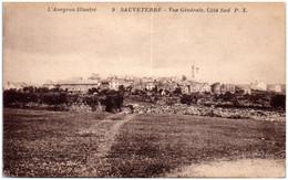 12 SAUVETERRE - Vue Générale Coté Sud - Altri Comuni