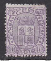 ESPAÑA 1875 - Escudo De España Sello Nuevo Sin Goma 10 C. Edifil Nº 155 - Nuevos