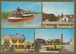 1132) 7142 ILLMITZ - Burgenlan D - Motorbootfahrten GANGL - Schiff ILLMITZ - Rosenhof U. Kirche - Neusiedlerseeorte