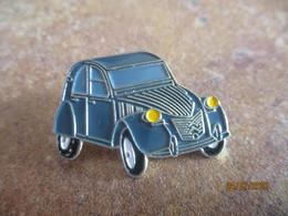 A011 -- 4 Pin's Citroen 2CV - Citroën