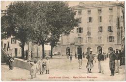 CORSE CPA  SAINT-FLORENT - Place Lefevre Desnoettes - Sonstige Gemeinden