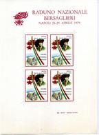 ERINNOFILIA / Raduno Nazionale Bersaglieri Napoli 28-29 Aprile 1979 - Erinnofilie