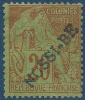 France Colonies Nossi Bé N°26* Neuf Superbe !! Signé Calves & Belleville - Unused Stamps