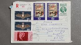 Bulgarien  Luftpost-R-Brief Plovdiv - Cartas