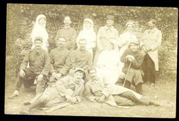 Cpa Carte Photo 14-18 Hôpital Militaire (1)  NOV20-64 - Oorlog 1914-18