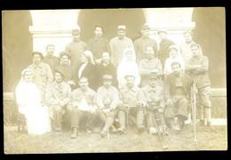 Cpa Carte Photo 14-18 Hôpital Militaire (2)  NOV20-64 - Oorlog 1914-18