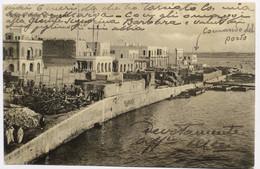 C. P. A. : LYBIE, LIBIA : Riva E Porto Di BENGASI, Timbre En 1912 - Libya
