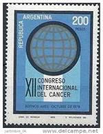 1978 ARGENTINE 1142**  Cancer - Neufs