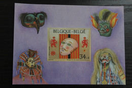 BL70 'Carnaval' - Ongetand - Zeer Mooi! - Imperforates