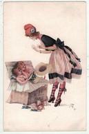 "Illustrateurs Signés // Jean Jam // Femme ""The Sammies In Paris"" - Andere Illustrators"