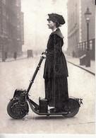 L215.Modern Postcard.  An Electric Scooter, C 1916. - Moto
