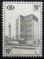 BELGIQUE                       CHEMIN DE FER     N° 398                     NEUF* - 1952-....