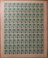France Sheet 1978 N°1967 Phospho Deplace  Verticalement En Feuille De 100 Cd 13/5/80 ** TB - 1970-1979