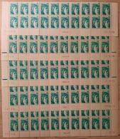 France Sheet 1978 N°1967  5 Bas De Feuilles De 20 Differents ** TB - 1970-1979