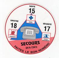 Fev21   90198   Auto Collant   Secours  24 H Sur 24 H - Stickers