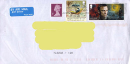 Great Britain 20?? James Bond / Babar On A Circulated Cover. - Actors