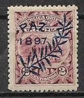URUGUAY 1897 FINE DELLA GUERRA CIVILE YVERT. 132 MLH VF - Uruguay