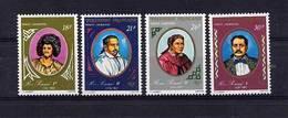 Polynésie  -  1976  -  Avion  :  Yv  106-09  ** - Unused Stamps