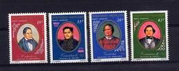 Polynésie  -  1977  -  Avion  :  Yv  117-20  ** - Unused Stamps