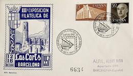 1957 España. Matasello. III Exposición Filatélica De Las Corts (Barcelona) - Briefmarkenausstellungen