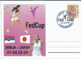 Serbia - Japan FedCup Tennis 2009 - Tennis