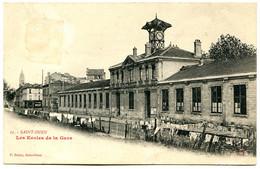 93400 SAINT-OUEN - Les Ecoles Michelet Près De La Gare, église - Linge à Sécher - Saint Ouen