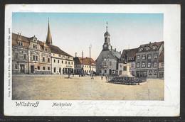 Germany - Colour PPC Wilsdruff Marktplatz - Posted 1902 - Autres