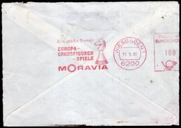 Deutschland - 1981 - Fragment - Cachet Spécial - Enveloppe Thématique - Tournois - Thème Des échecs - A1RR2 - Cartas