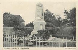 "CPA FRANCE 71 ""Vérizet, Monument Aux Morts"" - Sonstige Gemeinden"