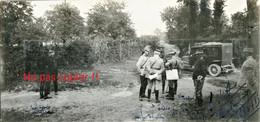PHOTO - LE GENERAL JOFFRE A BEAUDRICOURT - BAUDRICOURT BATAILLE D'ARRAS JUIN 1915 PAS DE CALAIS - GUERRE 1914 1918 - 1914-18