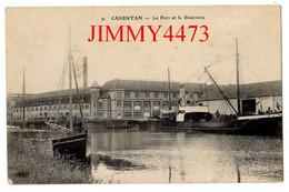 CPA - CARENTAN 50 Manche - Le Port Et La Beurrerie - N° 9 - Carentan