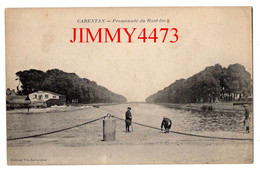 CPA - CARENTAN 50 Manche - Promenade Du Haut-Dick - Edit. Vve L. Leherpeur - Carentan
