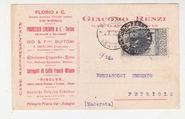 Card Cartolina Pubblicitaria Affr.Cm.30 Francescano-Viaggiata Italy Italia - Storia Postale