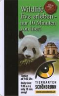 AUSTRIA  KEY HOTEL Austria Trend Parkhotel Schönbrunn - VIENNA - Cartes D'hotel