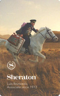 STATI UNITI KEY HOTEL    Sheraton - Luis Revoredo Associate Since 1972 - Cartes D'hotel