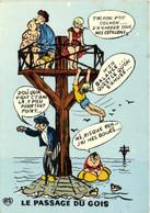Fantaisie Illustrateur LE PASSAGE DU GOIS  RV - Ile De Noirmoutier