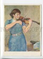 3170162 Elizabeth GILELS Soviet Jewish Violinist Old KHAZANOV - Cantanti E Musicisti