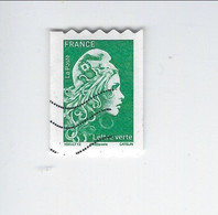 Type Marianne D'Yz Adhésif N° 1601 Oblitéré 2018 - Luchtpost