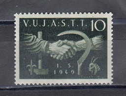 Triest B 1949 - 1. Mai - Labor Day, Mi-Nr. 4, MNH** - Ungebraucht