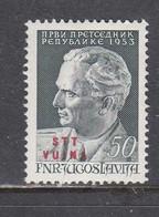 Triest B 1953 - Josip Broz Tito, Mi-Nr. 102, MNH** - Ungebraucht