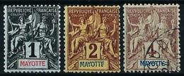 Mayotte (Francés) Nº 1/3 Nuevo(*)/º - Neufs